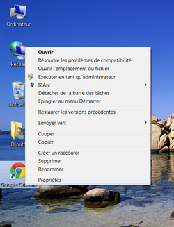 Google Chrome navigation privée 1