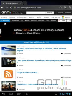 Raccourcis pages Web Android (1).