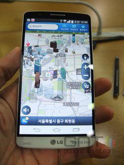 4G navigation LG G3