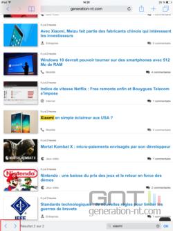 Rechercher page Web Safari iOS (4)