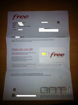 Free Mobile SIM 1