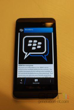 BlackBerry Channels