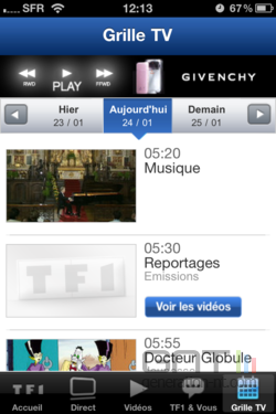 TF1 iOS 007