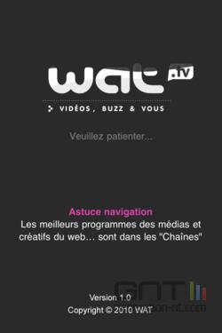 Wat.tv iPhone 001