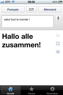 Google Traduction iPhone 004