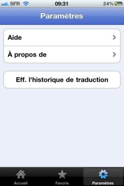 Google Traduction iPhone 006