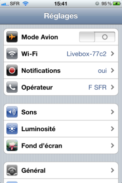 Ajout Suppression Applications iOS Ajout Suppression Applications iOS 001