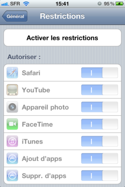 Ajout Suppression Applications iOS Ajout Suppression Applications iOS 003