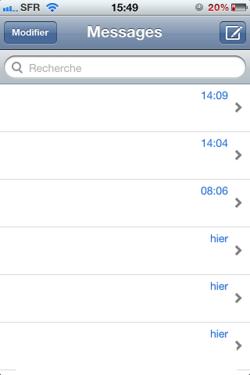 Recherche SMS iOS 002