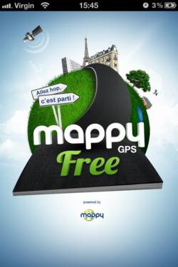 Mappy GPS Free 1