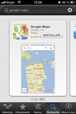 Google Maps iOS (2)