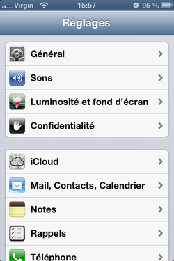 Alerte flash iPhone 1