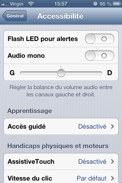 Alerte flash iPhone 3