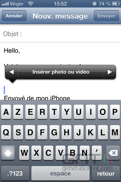 Photo Mail iOS 2