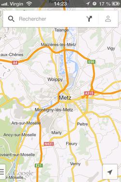 Google Maps hors connexion (1)