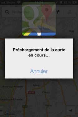 Google Maps hors connexion (3)