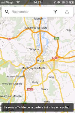 Google Maps hors connexion (5)