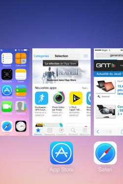 Fermer applications iOS (2)