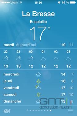 Météo iOS (3)