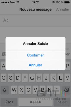 Annuler saisie message iOS (2)