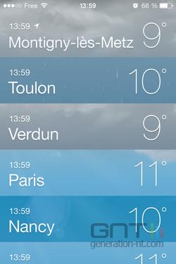 Résumé météo iOS (2)