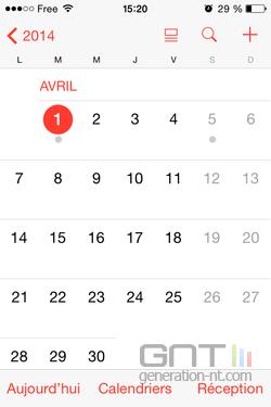 Vues calendrier iOS (1)