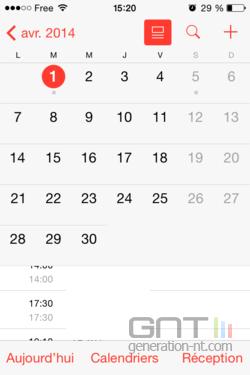 Vues calendrier iOS (3)