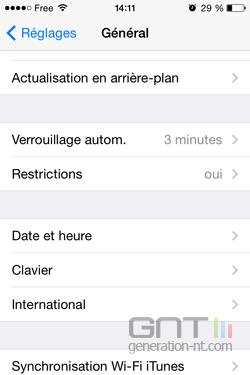 Améliorer Autonomie iPhone 20