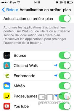 Améliorer Autonomie iPhone 21