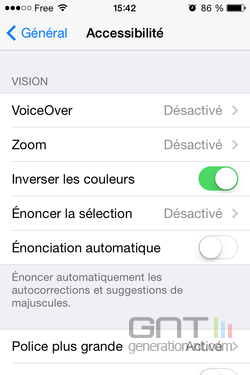 Inverser couleurs iPhone (3)