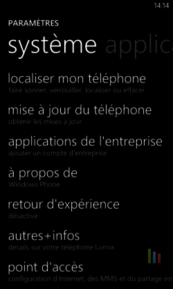 Windows Phone localisation 5