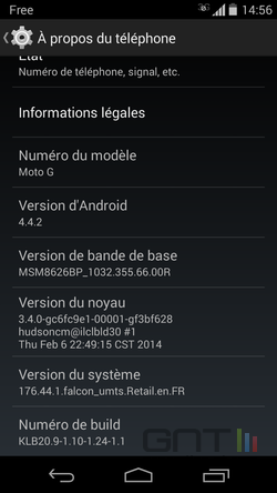 Options développeurs Android (2)