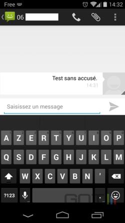 Accusé réception Android (1)