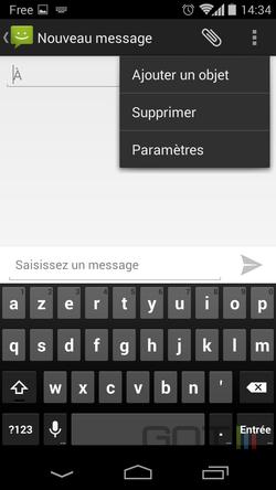Accusé réception Android (2)