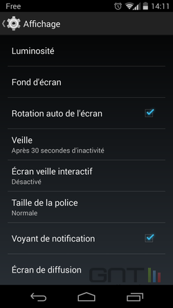 Diode notification Android (2)