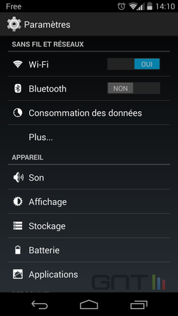 Diode notification Android (1)