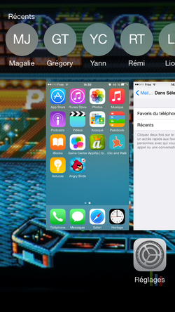 Contacts récents favoris iPhone (4)