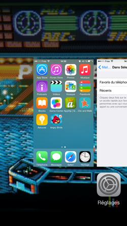 Contacts récents favoris iPhone (5)