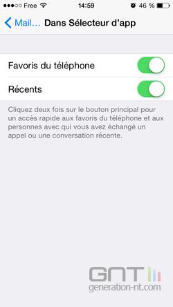 Contacts récents favoris iPhone (3)