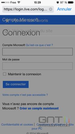 Version classique site Safari iOS (3)