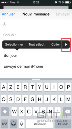 Mise en forme email iPhone iPad (2)