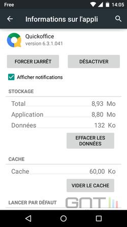 Cacher applications intégrées Android (4)