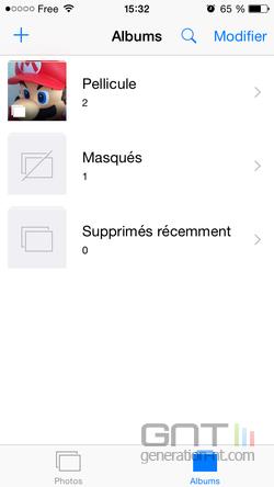 Masquer photos iPhone iPad (4)