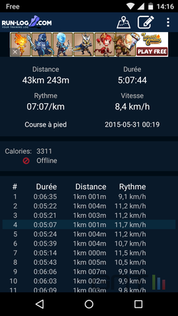 Courir Android smartphone (3)