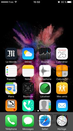 iPhone accessibilité haut écran (2)