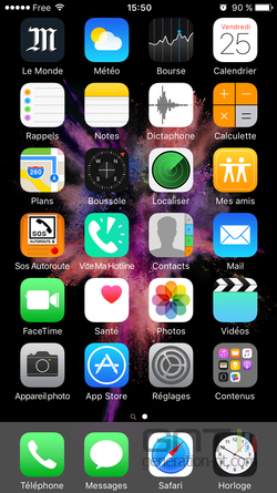 iPhone accessibilité haut écran (1)