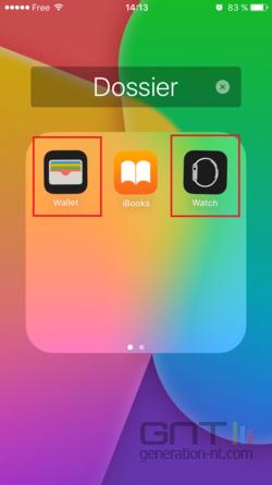 Cacher applications iOS (1)