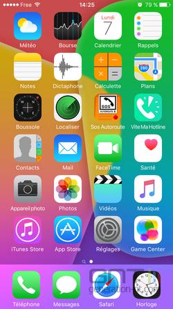 Cacher applications iOS (2)