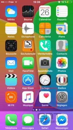 Fiche médicale iPhone (1)