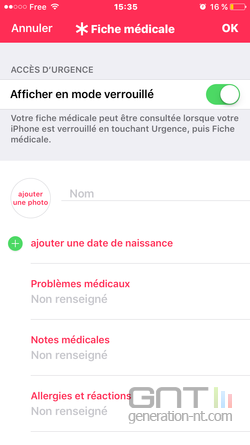 Fiche médicale iPhone (3)
